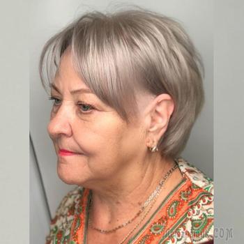 Осенние тренды для волос для женщин старше 60 лет: 17 стильных новинок 2021