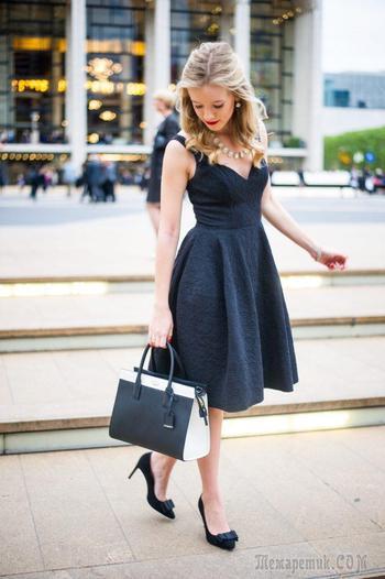 Маленькое черное платье — Модные варианты и новинки 2017