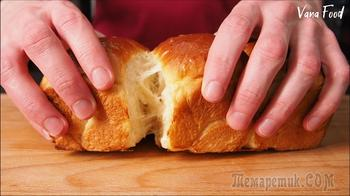 Молочный хлеб. Отрывные булочки мягкие как пух!