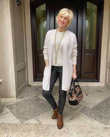 Модные весенние образы для женщин 40-50 лет