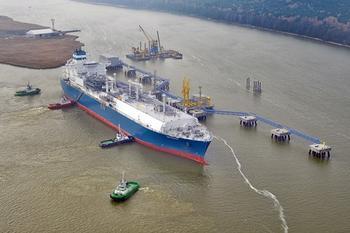 """Поражение LNG-терминала """"Independence""""."""