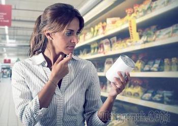 Поддельные продукты питания от производителей
