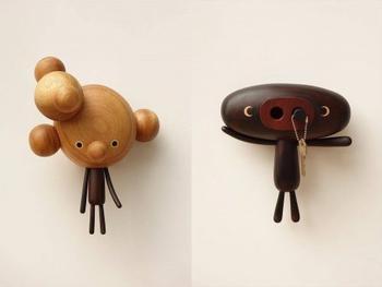 Мультяшные фигурки из дерева от художника Ень Цзюй-Линь
