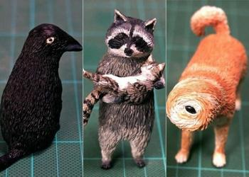 Фигурки животных по забавным интернет-мемам