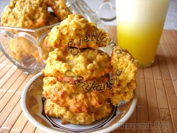 Овсяно-тыквенное печенье полезный рецепт для самых близких!