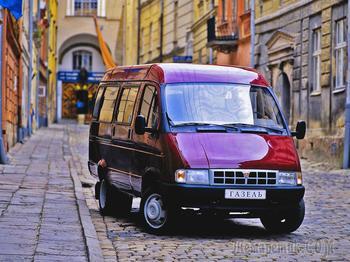 Передаём за проезд: история разработки микроавтобуса Газель ГАЗ-3221