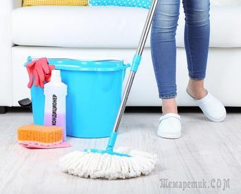 15 способов сделать уборку во всем доме за считаные минуты