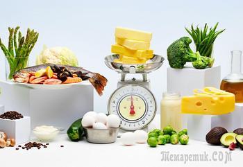 Список разрешенных продуктов для составления меню на кетодиете для похудения