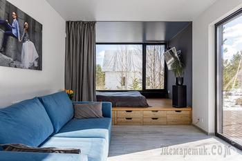 Минчане построили в Колодищах дом размером с однокомнатную квартиру