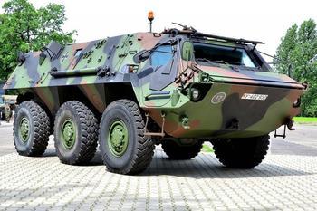Опасная «Лиса» на службе Бундесвера. БТР TPz 1 Fuchs