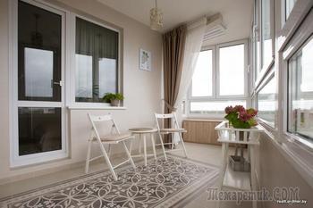 Минчанка обустроила балкон в стиле хюгге