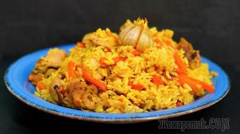 Вкуснятина неимоверная без лишних хлопот на обед или ужин - Ленивый плов в духовке