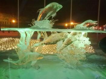 Невероятные ледяные скульптуры от Даррена Джексона