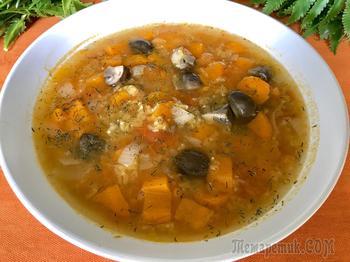 """Вегетарианский суп """"Оранжевый"""""""
