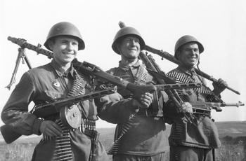 Отчет стрелкового полигона: пистолеты и пистолеты-пулеметы. Часть 1