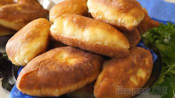 Вкусные пирожки без дрожжей с интересной начинкой. Быстро, просто на вкус как дрожжевые!