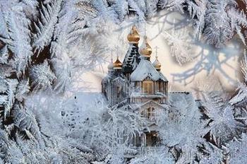 Вернулась в мир красавица - зима! (Стих)
