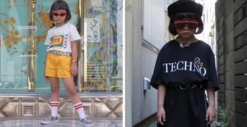 Коко — 6-летняя модница из Японии, которая одевается лучше, чем многие взрослые