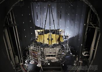 Криогенные испытания космического телескопа «Джеймс Уэбб» успешно завершены