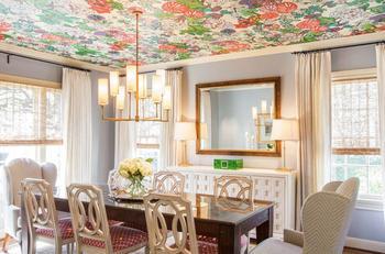 Идеи оформления потолка в квартире