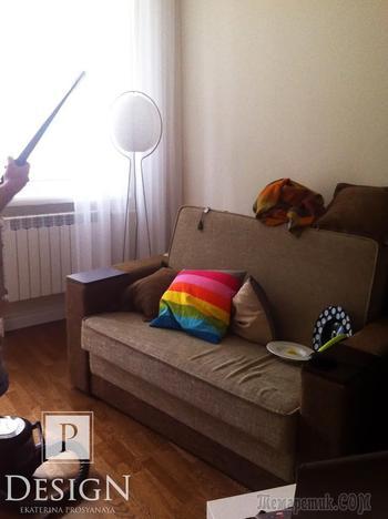 Дизайн-проект 2-х комнатной квартиры на Автозаводской