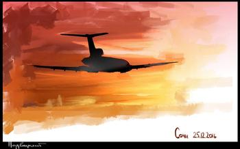 О вероятности теракта. Гибель Ту-154
