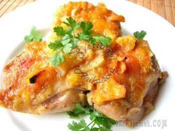 Изумительный рецепт курицы в апельсиновом желе