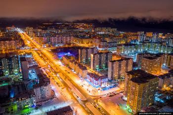 Нижневартовск с высоты — северный город нефтяников