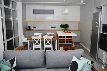 4-комнатная квартира, где любимое место всей семьи – кровать
