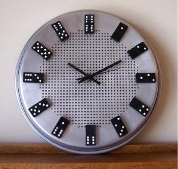 Часы домино: цифровые и сделанные своими руками