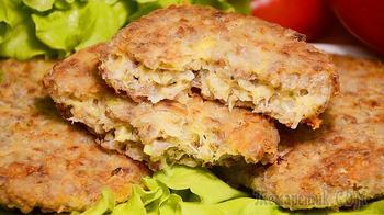 Котлеты из гречки с сыром – отличный способ полюбить гречку! Простой рецепт гречневых котлет!