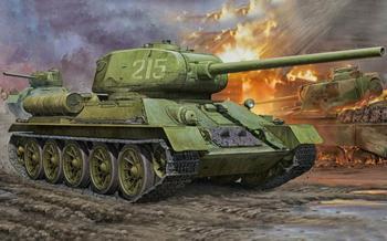 Т-34/100. Самая могучая «тридцать четвёрка».