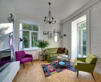 Незаурядный дизайн квартиры в Киеве