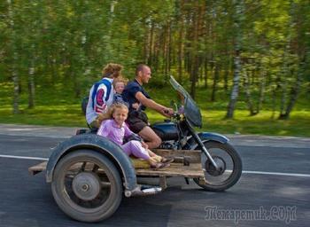 Странные люди, которых можно встретить на дорогах