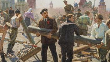 Что из образа Ленина является правдой: Кепка, бревно и крылатые фразы