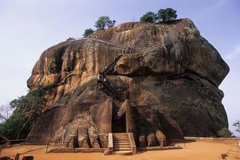 Крепость-дворец Сигирия, Шри-Ланка