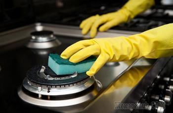 Народные средства, которые заставят кухонную плиту блестеть