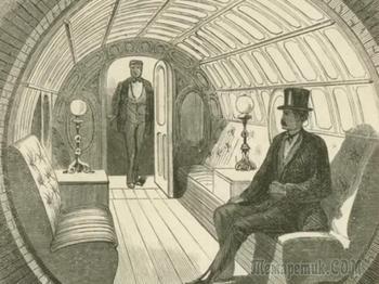«Пневмотранзит» — подземный тоннель для пневматических поездов