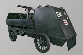 Бронеавтомобиль Armoured Autocar (Канада)