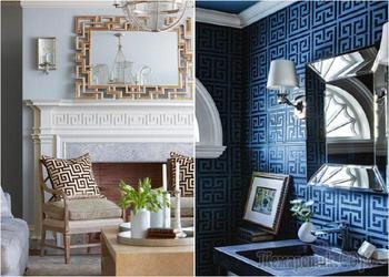 Меандр: греческие мотивы в современном декоре