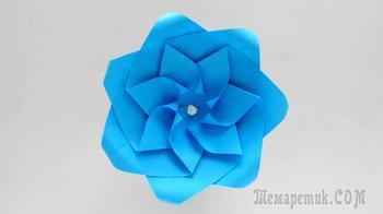 Как сделать реалистичные бумажные розы 🌼 красивый оригами цветок