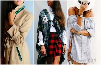 Идеи, которые помогут превратить старую одежду в модные эксклюзивные вещи