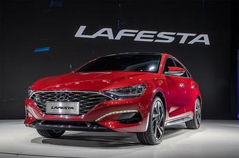 Hyundai Lafesta 2018 – спортивный седан Хендай Лафеста