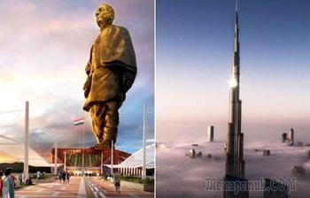 5 масштабных построек на планете, от одного взгляда на которые захватывает дух