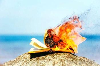 Прочтённой страницей сгоришь в новом дне...(Стих)