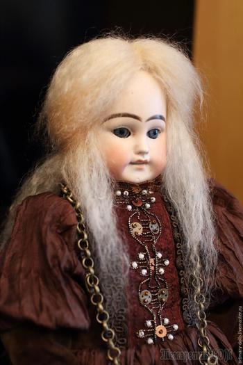 Создаем куклу в антикварном стиле, или Как родилась Грета