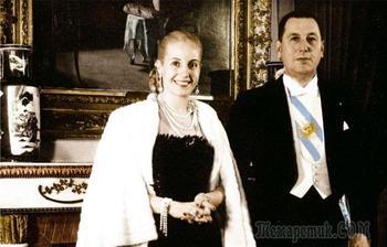 Любовный роман диктатора на глазах у нации: Президент Хуан Перон и принцесса нищих Эва Дуарте