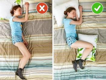 Как спать в любимой позе и не иметь проблем со здоровьем