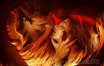 Душа моя в большом огне сгорает... (Стих)