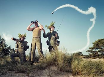 20 остроумных работ голландского фотографа с непревзойденным чувством юмора